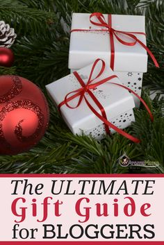 The Ultimate Gift Guide for Bloggers is filled with gift ideas for any  blogger in your 5170544c37f