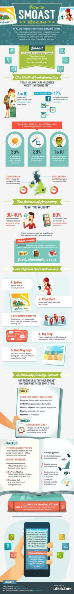 How To #Smoast Like A Pro #Infographic | #socialmedia