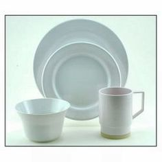 Dinnerware from Defender. We offer Marine Dinnerware at discounted prices.  sc 1 st  Pinterest & Galleyware Melamine Dinnerware Set - Off Shore | Nautical Fasination ...