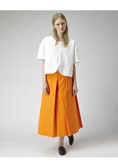 Jacquemus / Long Pleated Skirt | La Garçonne