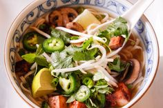 Pho is SO EASY to make! There are three key spices to really get that familiar and comforting flavor of pho and the rest is super simple to put together. Make this recipe and you'll have a steaming bowl of goodness in no time