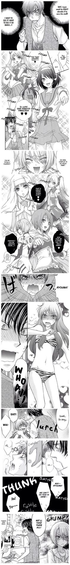 Love Stage!! ~~ An otaku's dream is dressing up their boyfriend in cosplay outfits! :: Chapter 41.2
