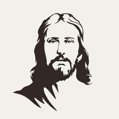 Find Jesus Christ stock images in HD and millions of other royalty-free stock photos, illustrations and vectors in the Shutterstock collection. Christian Symbols, Christian Art, Jesus Sketch, Image Jesus, Jesus Drawings, Jesus Christ Drawing, Line Art Vector, Jesus Painting, Jesus Christus