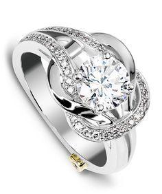 Jubilant Engagement Ring - Mark Schneider Design