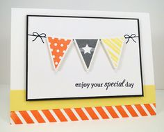 Bitty Banners; Jumbo Mod Borders; Birthday Greetings; Bitty Banners Die-namics - Jody Morrow