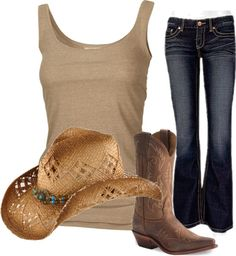 """""""country chic"""" by andersonee on Polyvore"""