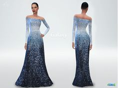 Inspired by Elie Saab 2014 Haute Couture FW collection. New mesh. New item. Enjoy! DOWNLOAD