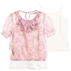 Designer Tops for Girls | Childrensalon