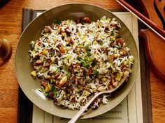 Chestnut and Wild Rice Pilaf - Amy Theilen - make with her Monkfish Almondine and cast iron carrots and possible toffee bars