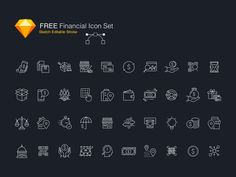 30 Free Social Media Icon (Free for commercial use) on Behance