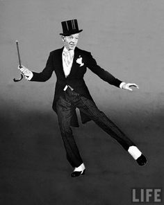 Love Fred Astaire! He doesn't dance...he flies!!!
