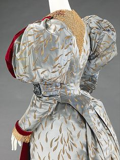 Evening ensemble House of Worth (French, 1858–1956) 1893