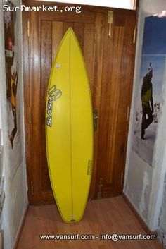 Tabla nueva Slash Guru Big Guy.    Medidas: 6.6 x 19.65 x 2.60    Sin quillas.