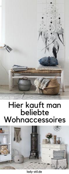 Beliebte Wohnaccessoires kaufen! Skandinavischer Stil, Boho Stil, Lady Stil´s Deko kaufen leicht gemacht! Interior