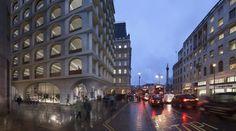 Adjaye . Strand mixed use development . London