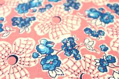 Vintage Feedsack Cotton Fabric FQ 97 by jhwa on Etsy, $4.50