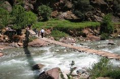 Ourika Valley Day Trip from Marrakech Experience the beautiful Ourika Valley on this day trip from Marrakech. Ride in an air-conditioned minivan with your guide through the Atlas Mountains and visit the seven waterfalls of Setti Fatma for fantastic photo opportunities. Your relaxing and peaceful day in the magnificent landscapes of the valley will end around 5pm back in Marrakech.Depart from the Medina in Marrakech at around 9 am in your private, air-conditioned minivan and he...