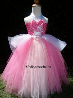 How To Make sleeping beauty Tutu Costumes | Princess Aurora sleeping beauty tutu dress costume. by hollywoodtutu