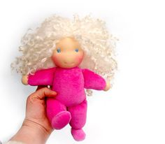 Waldorf doll made to custom order for special by LaFiabaRussa, €45.00