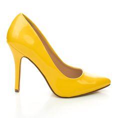Date Classic High Heel Pointy Toe Dress Plain Pump, Women New Shoes