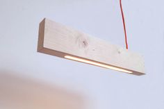Minimalist 2×4 Hanging Pendant Light