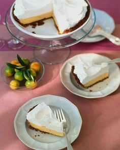 Key Lime Pie Recipe   Follow @MS_Living on Pinterest for more recipes and inspiration from the editors of Martha Stewart Living.