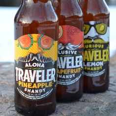 Everyone should give our new pineapple shandy, Aloha Traveler, a try!