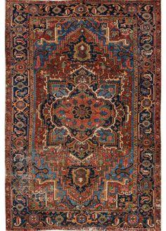 Antique Heriz Rug – Apadana Fine Rugs