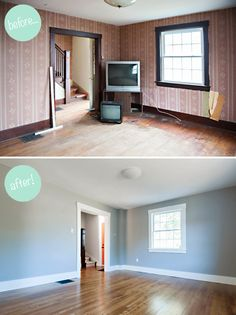 House Renovations (before & after)     Candace Berry Photography
