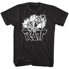 Rose Tattoo Rock/'n/'Roll Outlaws Men/'s White T-Shirt Size S M L XL 2XL 3XL