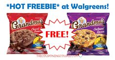 FREE Grandmas Cookies at Walgreens!  You are going to love this freebie! You may also be able to snag it at your favorite store!  Click the link below to get all of the details ► http://www.thecouponingcouple.com/free-grandmas-cookies-walgreens/ #Coupons #Couponing #CouponCommunity  Visit us at http://www.thecouponingcouple.com for more great posts!