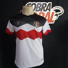 Santa Forte: Santa Cruz lança camisa de 103 anos com marca própria | Mantos do Futebol Camisas de Futebol