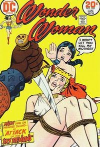 """""""The Planet of Plunder"""": Wonder Woman must rescue the women of an underwater city from Solo and his Neptunian army. Wonder Woman must rescue the women of an underwater city from Solo and his Neptunian army."""
