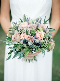 Gorgeous bouquet. Photo by Renata Fry Photography.