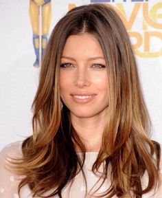 Ladies Long Length Brown Hairstyles