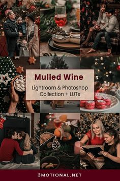 10 Mulled Wine Photo Presets pack is perfect for your Christmas & winter photo. This Photography filters add a rich, dark, moody, and soft look to your photos that is the Best Choice for Instagram Blogger, Lifestyle Influencers, festive Photography, luxury Holiday, Christmas, winter, children & family, home blogging, and interior decor photos. #darkMoodyPresets #PhotoPresets #ChristmasPhoto #ChristmasPresets #lifestylePresets #PhotographyFilters #familyPhotography #BabyPhotography #Outdoor