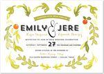 wedding paper divas - orange orchard: olive