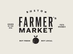 Ruston Farmer's Market by Jake Dugard  ♥  via @Alex Y