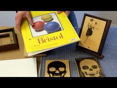 Encaustic workshop part 2 Choosing a surface for Encaustic Painting  by Jon Peters