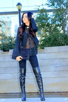 I see little stars. (by Mayte Hauxwell) http://lookbook.nu/look/2882957-i-see-little-stars