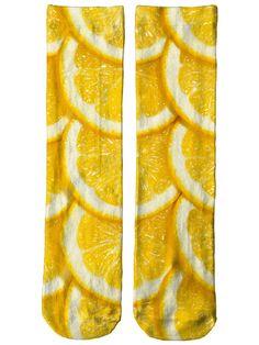 Oranges Crew Socks by Beloved Shirts