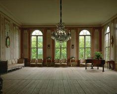 My dream artist studio space.....minus the fine furniture....