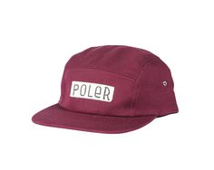 880237a08ae Camper Furry Cap in Wine  PolerStuff  CampVibes 5 Panel Hat