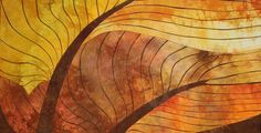 Elaine Quehl - End of Days I love the drama Elaine puts into something as simple as the curve of a leaf - it becomes something monumental.