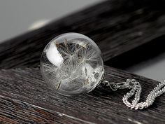 Dandelion necklace, I love how whimsical it is!!