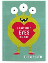 Minted classroom Valentines :)     This makes me want to go back to grade school.