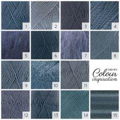 Are you crazy about denim #blue? See more blues on http://www.garnstudio.com/lang/en/searchbycolour.php #colourlove