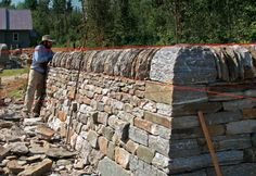 Stone Walls That Stay Built - Master craftsman Brian Post describes the five essential rules of stone walling, and how they can help you build beautiful walls that will last centuries.