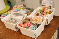 My Favorite Things: berry baskets for small items ♥