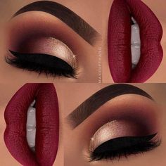 "16k Likes, 27 Comments - MarySiordiaTrujillo (@maryhadalittleglam) on Instagram: ""This is stunning #Repost @makeupthang ・・・ Red shades are just hypnotizing❗️❤️ ---…"""